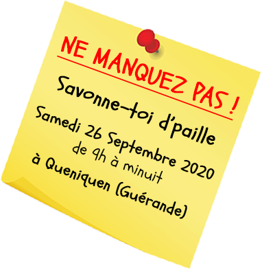 Post it 2020 Savonne toi dpaille